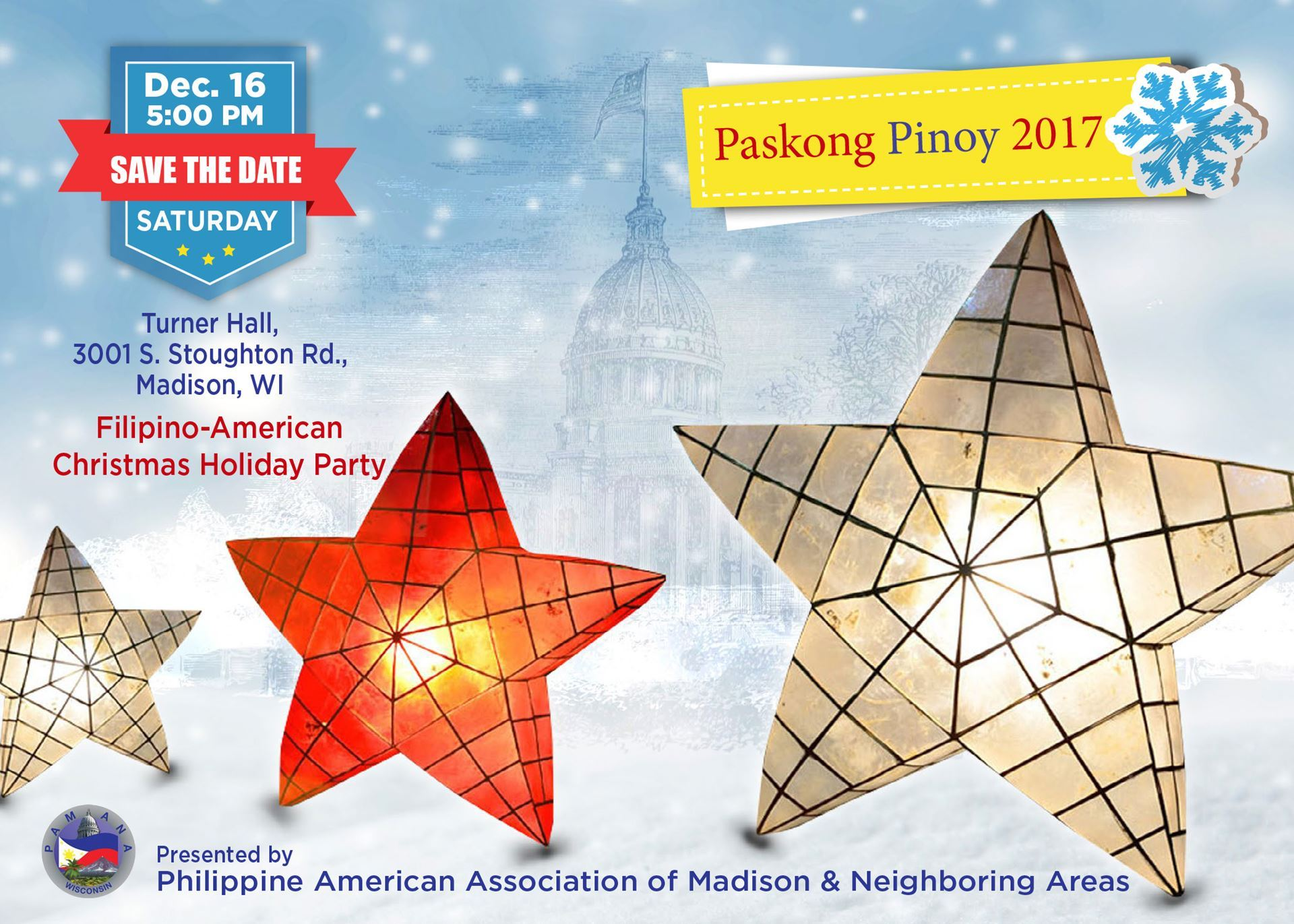 filipino americans in the madison area will come together to celebrate paskong pinoy honoring traditions and people in a culture rich gathering with song - Filipino Christmas Star